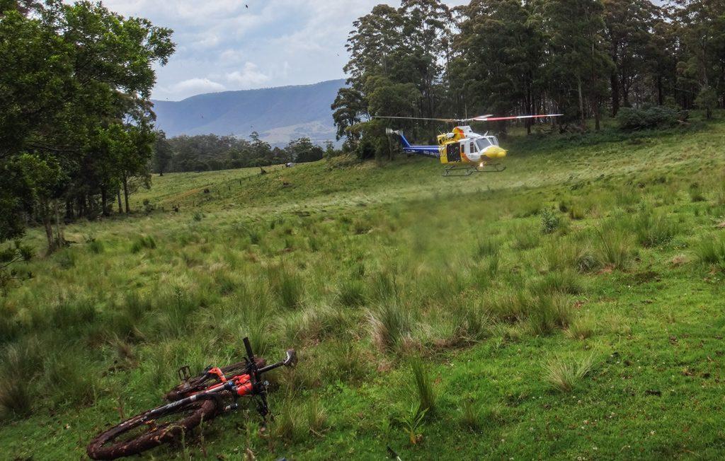 RACQ LifeFlight Helicopter