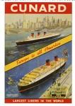 Old Cunard Postcard