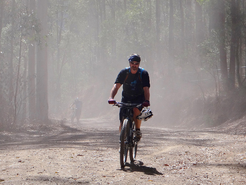 Mike in the Dust
