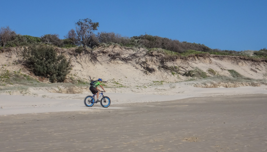 Fat Bikes on the Beach