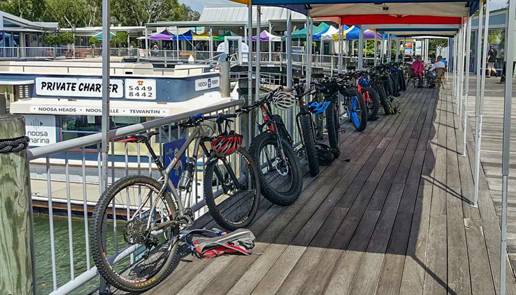 Fat Bikes at Noosaville