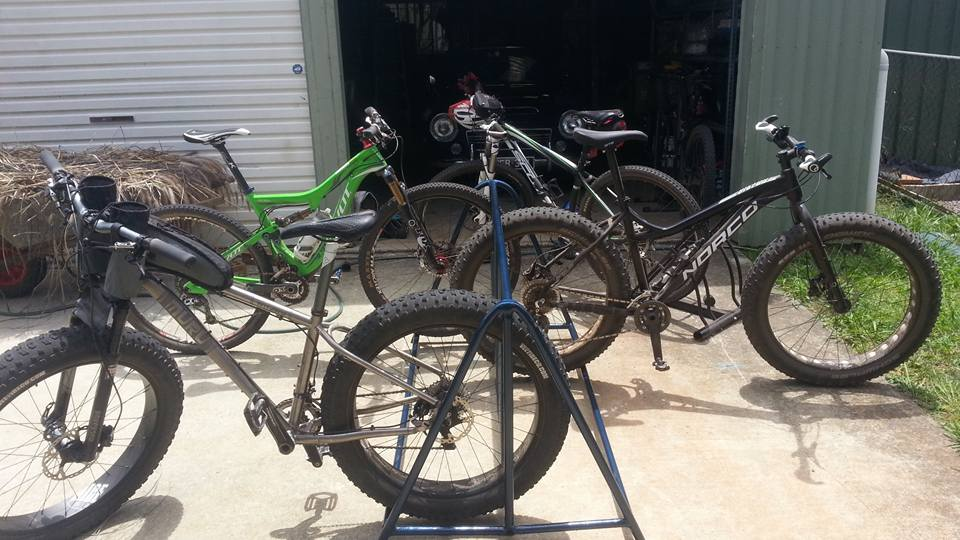 Bikes on the Driveway