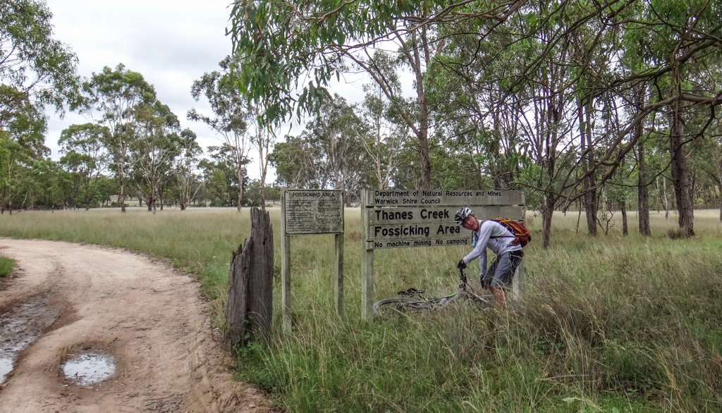 Thanes Creek Fossicking Area