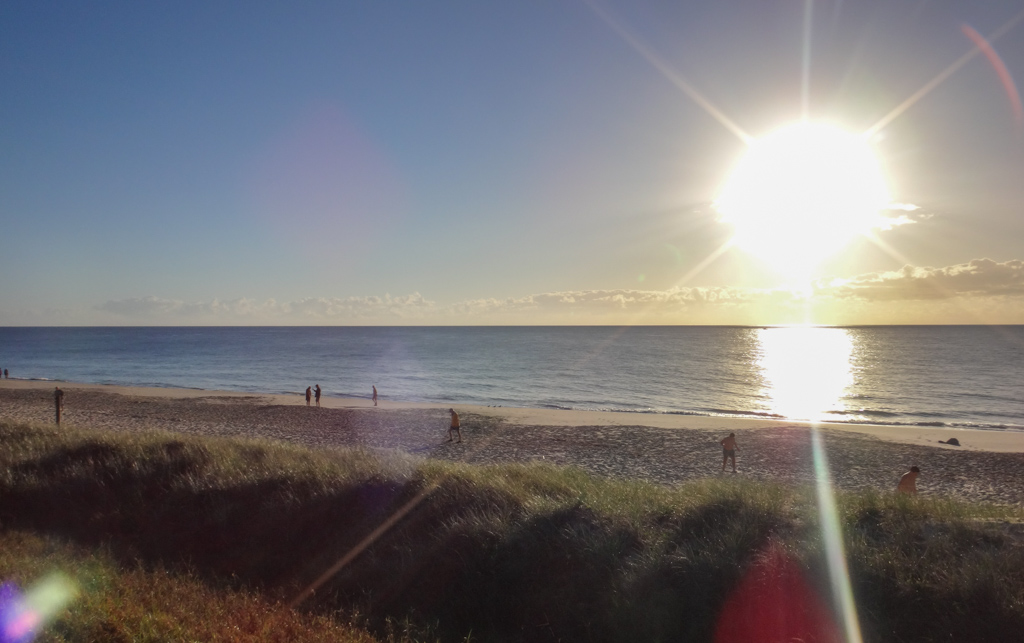 Morning at Woorim Beach