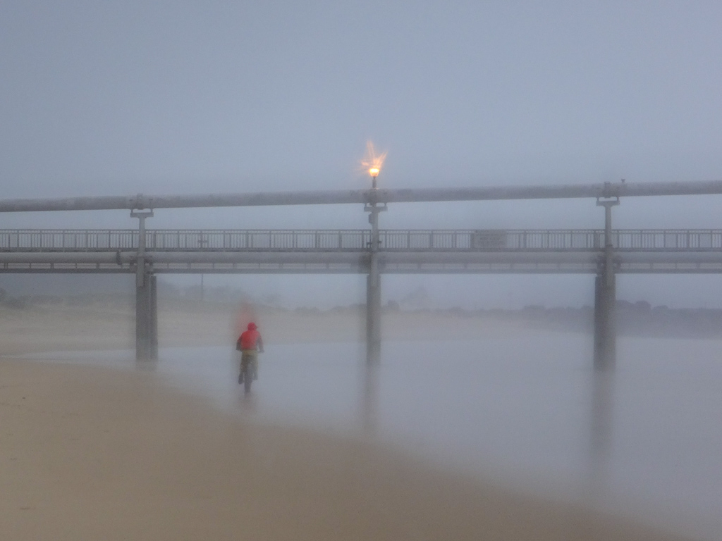 Sand Pumping Jetty