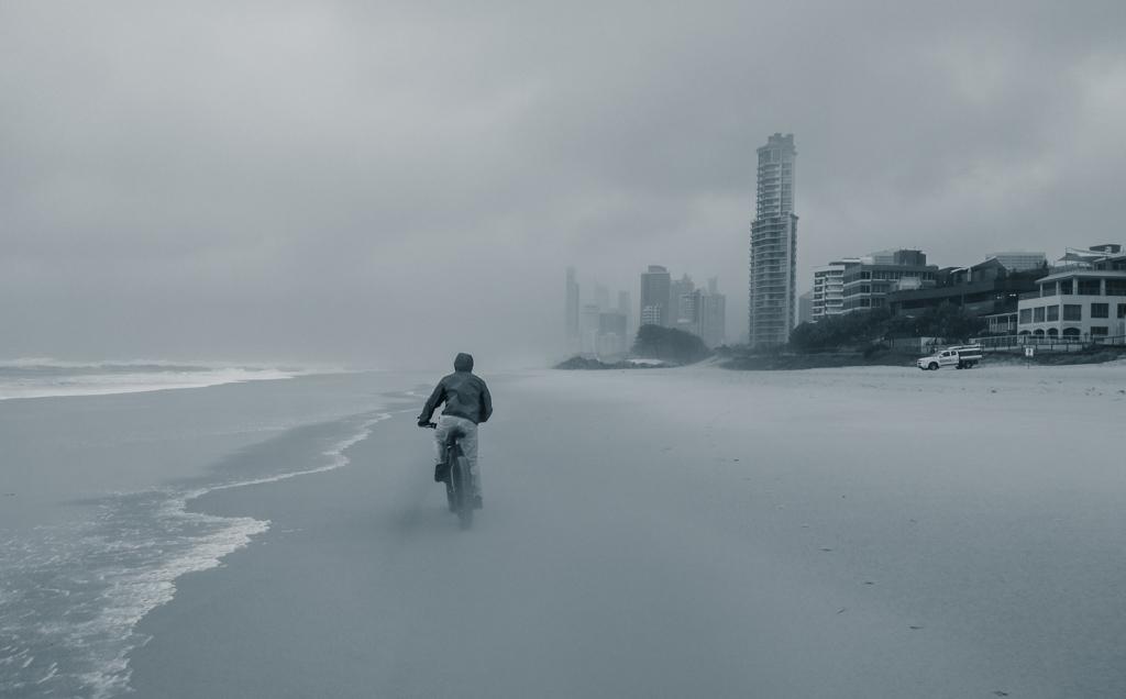 Rain at Surfers Paradise