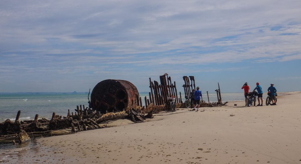 Western Beach Wrecks