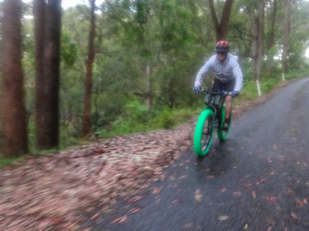 Rainy Downhill