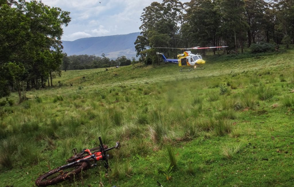 RACQ LifeFlight Helicopter