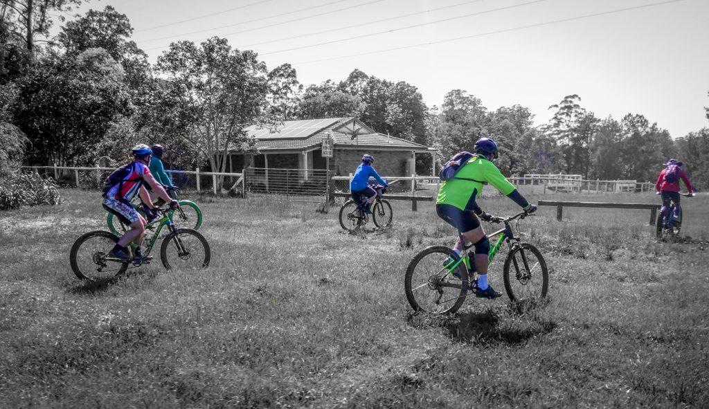 Big Kids on Bikes