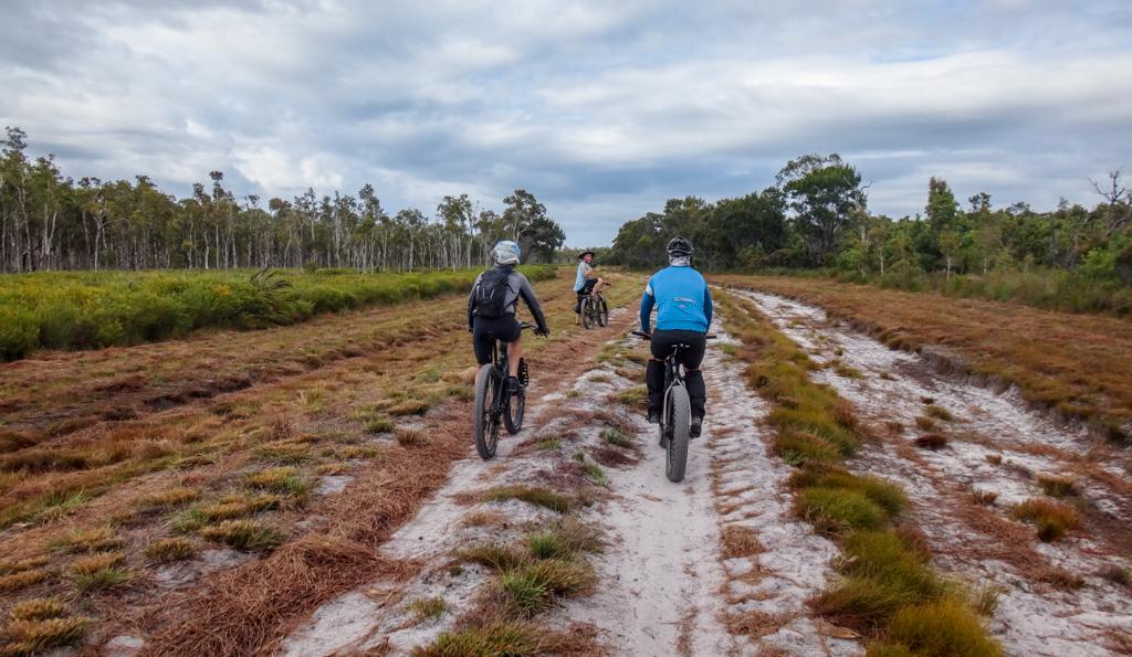 Bribie Island Bike Tracks Map